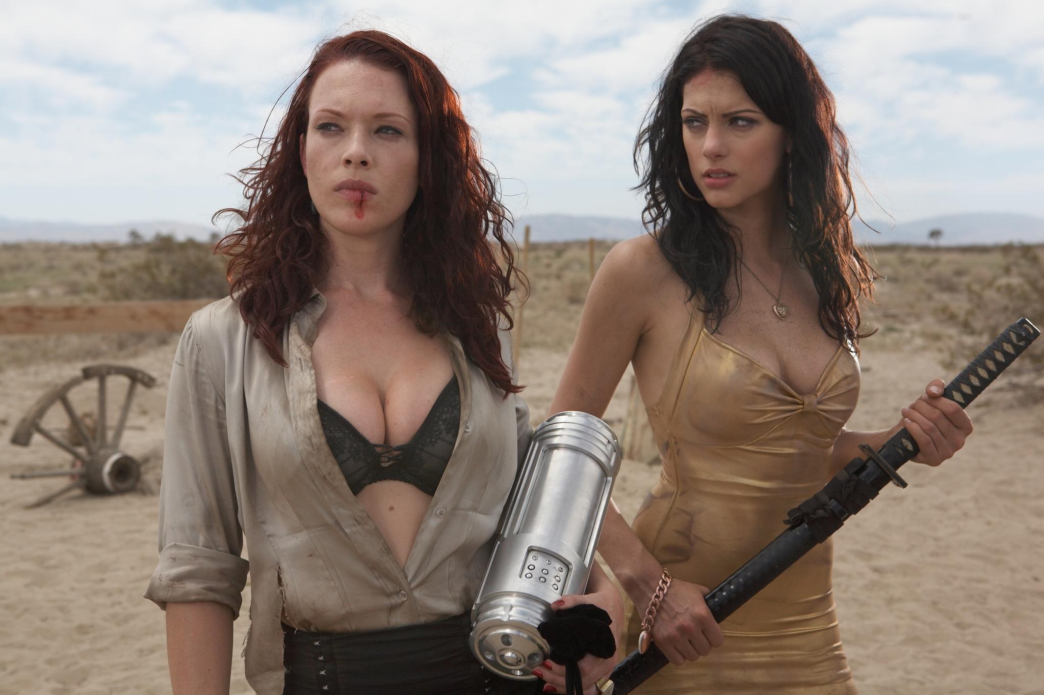 Erin Cummings and Julia Voth in Bitch Slap (2009)