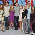 Jennifer Aspen, Brian Palermo, Tracy Dawson, Luke Benward, Adam Chambers, Katherine McNamara, and Olivia Holt in Girl Vs. Monster (2012)