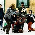 Jessica Liedberg, Ola Rapace, Michael Nyqvist, and Shanti Roney in Tillsammans (2000)