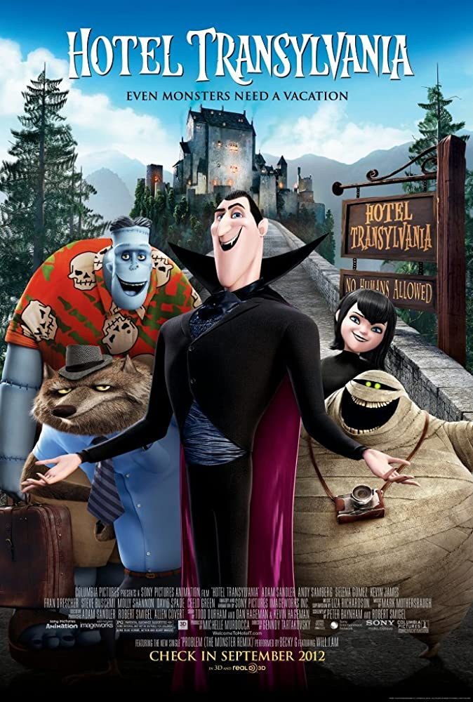 Hotel Transylvania (2012) Dual Audio Hindi 300MB BluRay 480p x264 ESubs