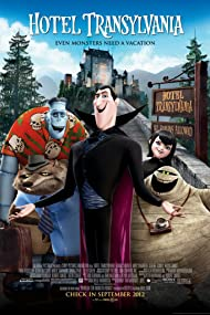 Steve Buscemi, Adam Sandler, CeeLo Green, Kevin James, and Selena Gomez in Hotel Transylvania (2012)