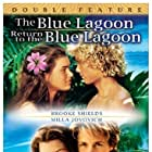 Milla Jovovich, Brooke Shields, Christopher Atkins, and Brian Krause in The Blue Lagoon (1980)