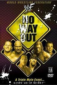 Kurt Angle, Steve Austin, Mark Calaway, Chris Jericho, Dwayne Johnson, and Paul Levesque in WWF No Way Out (2002)