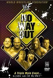 WWF No Way Out(2002) Poster - TV Show Forum, Cast, Reviews