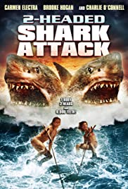 2-Headed Shark Attack Poster
