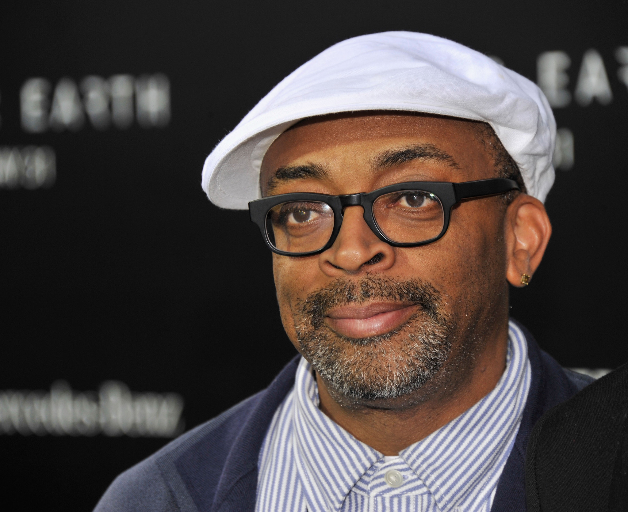 Spike Lee at an event for After Earth (2013)