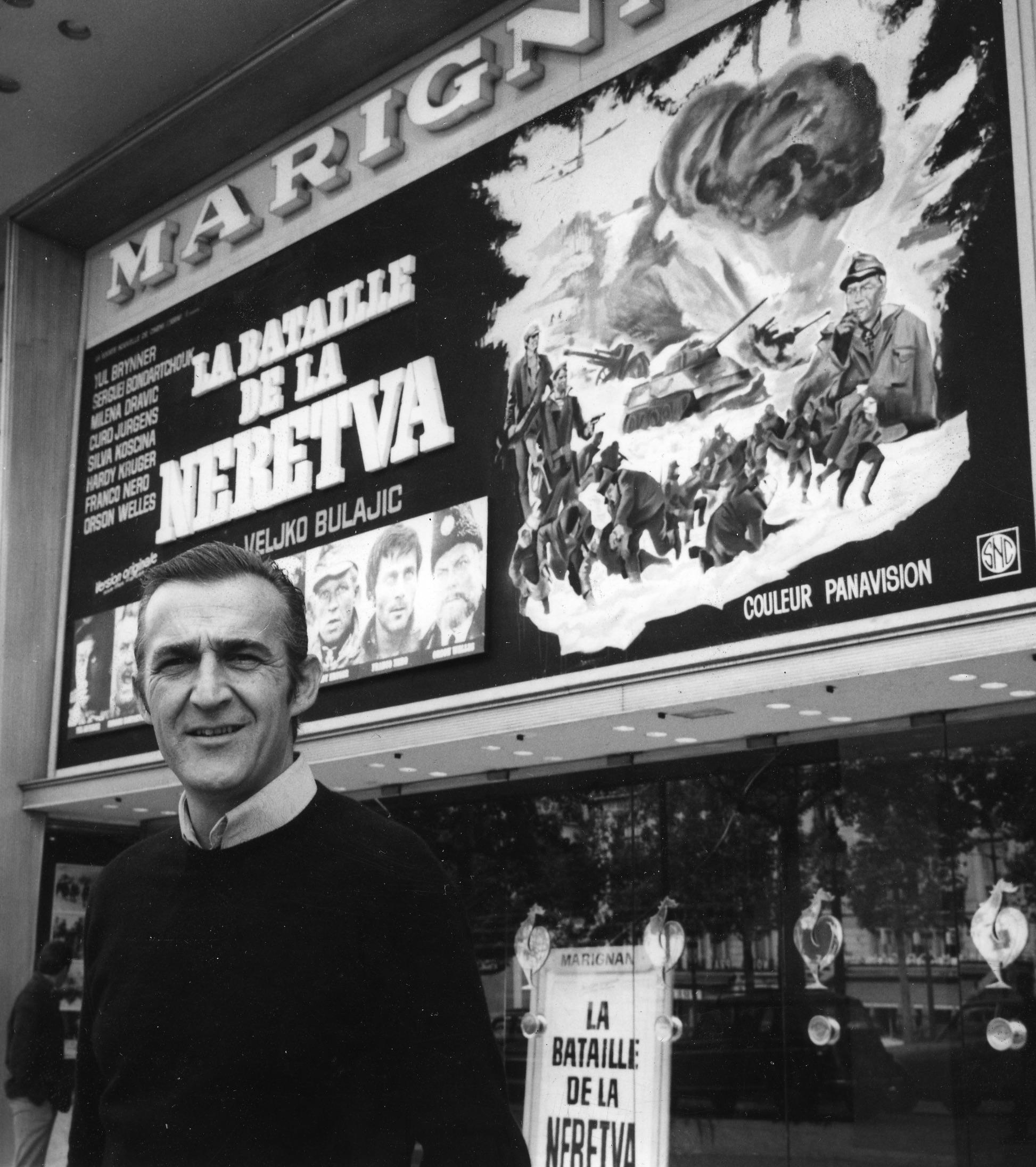 Veljko Bulajic at an event for Bitka na Neretvi (1969)