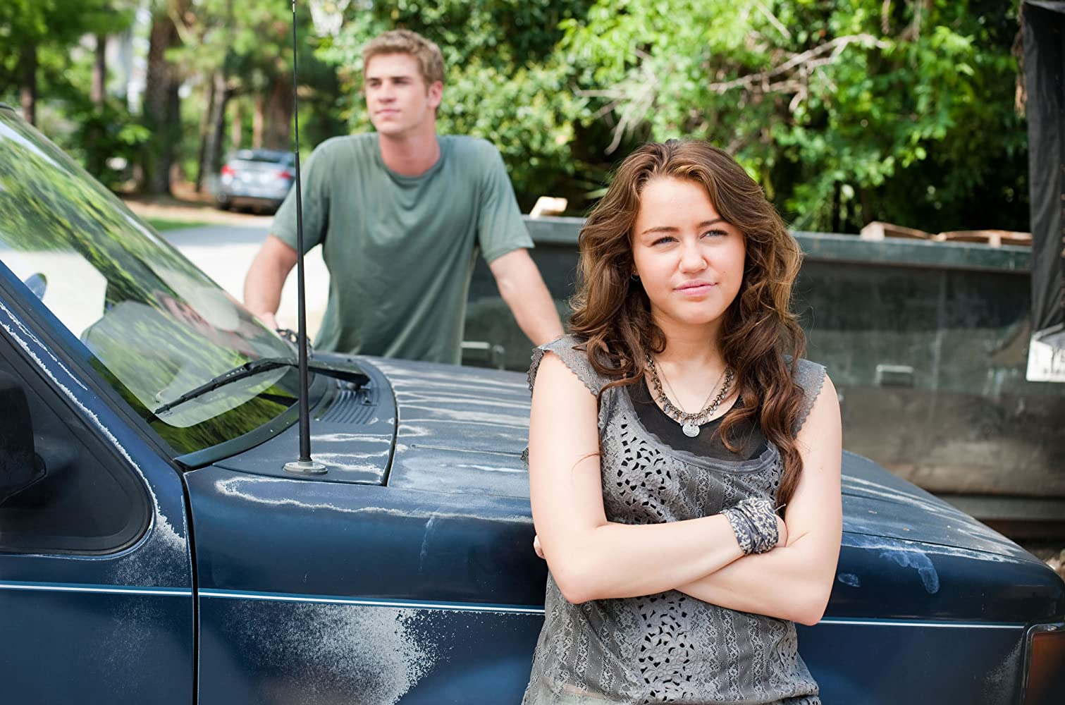 Miley Cyrus and Liam Hemsworth in The Last Song (2010)