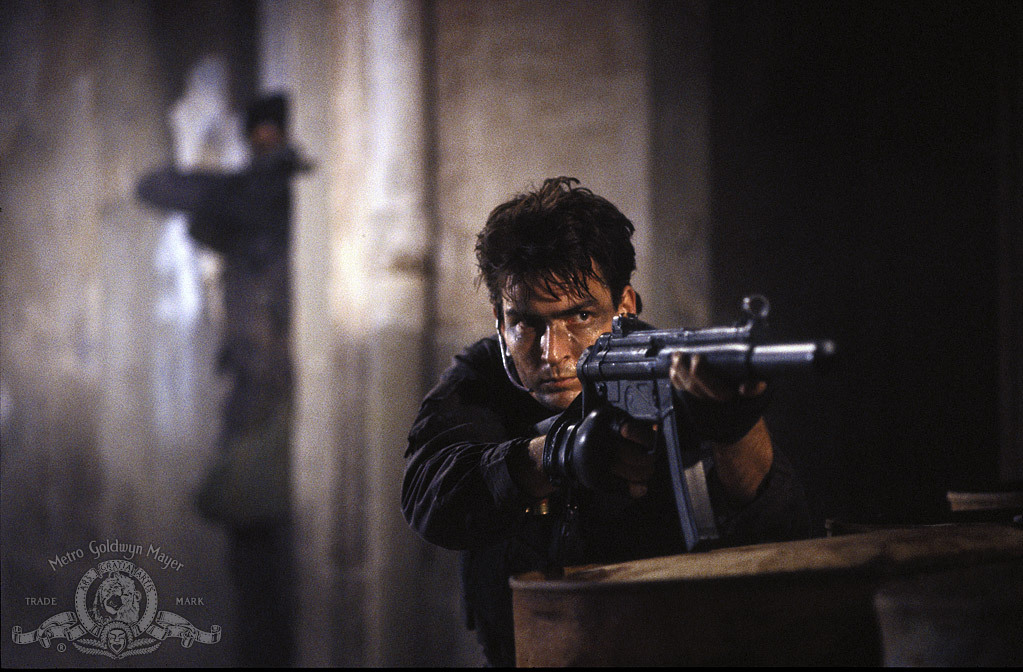 Charlie Sheen in Navy Seals (1990)