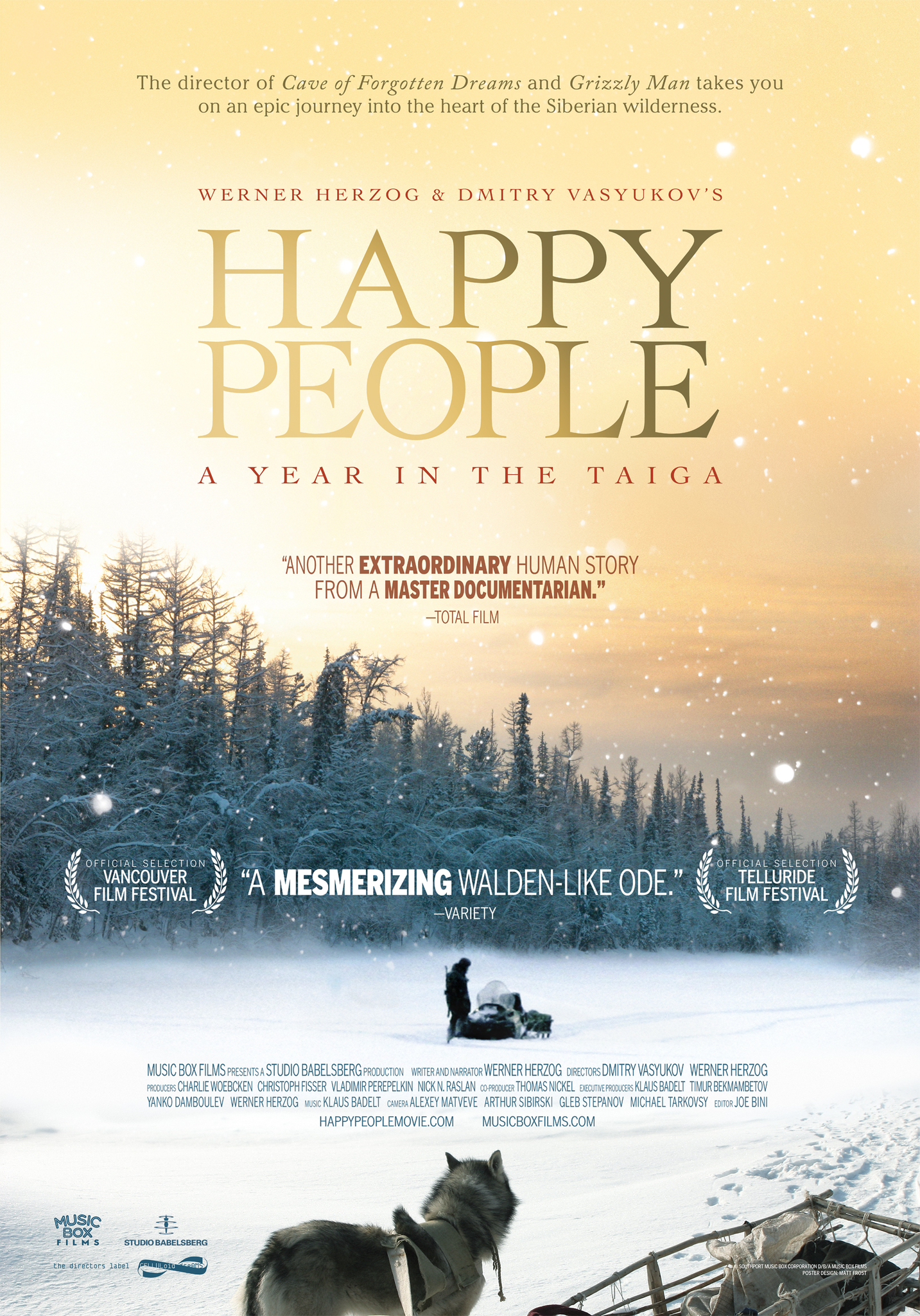 Happy People: A Year in the Taiga (2010) DVDRip