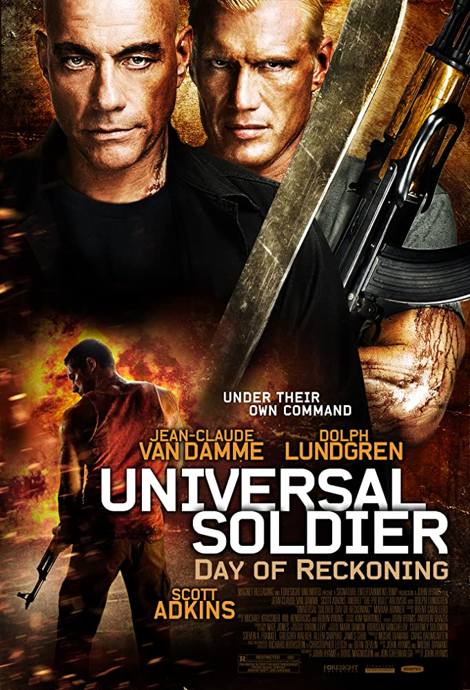 Universal Soldier Day of Reckoning 2012 Dual Audio Hindi 480p