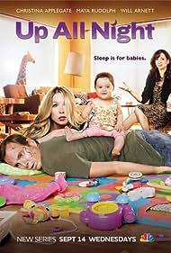 Christina Applegate, Will Arnett, and Maya Rudolph in Up All Night (2011)