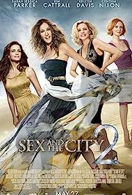 Kim Cattrall, Sarah Jessica Parker, Kristin Davis, and Cynthia Nixon in Sex and the City 2 (2010)