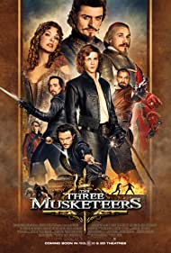 Milla Jovovich, Orlando Bloom, Logan Lerman, Matthew Macfadyen, Mads Mikkelsen, Ray Stevenson, Christoph Waltz, and Luke Evans in The Three Musketeers (2011)