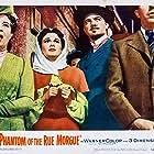 Karl Malden, Marie Blake, Claude Dauphin, and Patricia Medina in Phantom of the Rue Morgue (1954)