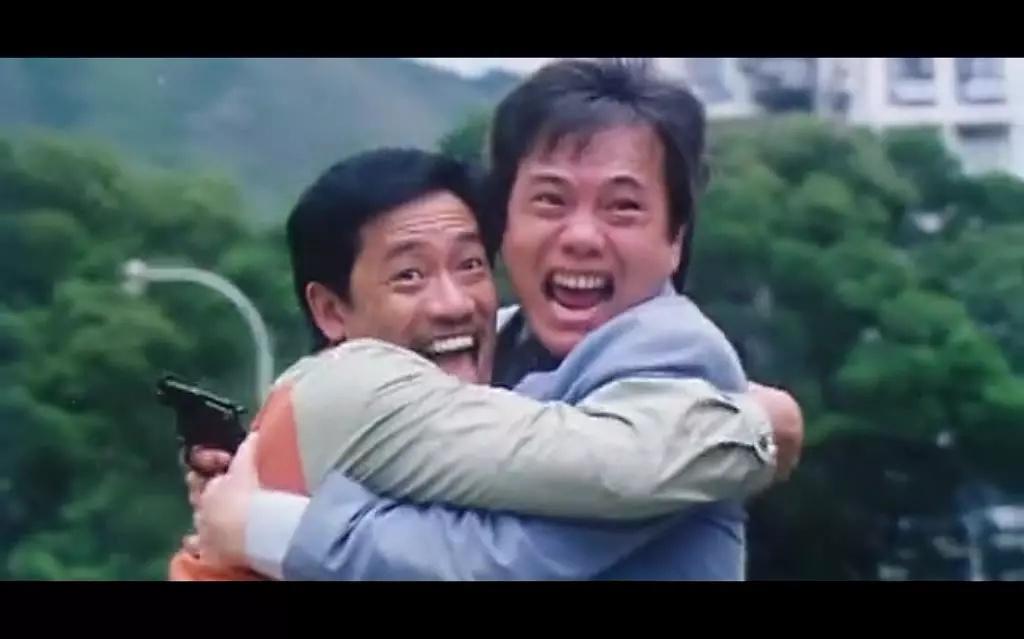 Richard Ng and James Tien in Seung lung chut hoi (1984)