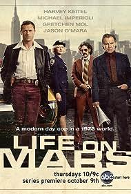 Harvey Keitel, Gretchen Mol, Michael Imperioli, and Jason O'Mara in Life on Mars (2008)