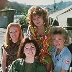 Dana Delany, Marg Helgenberger, Chloe Webb, and Nan Woods in China Beach (1988)