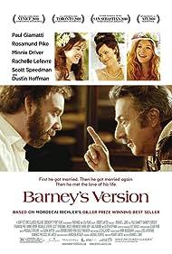 Dustin Hoffman, Minnie Driver, Paul Giamatti, Rachelle Lefevre, and Rosamund Pike in Barney's Version (2010)