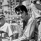 "Elvis Presley on the set of ""Change of Habit,"" Universal, 1969."