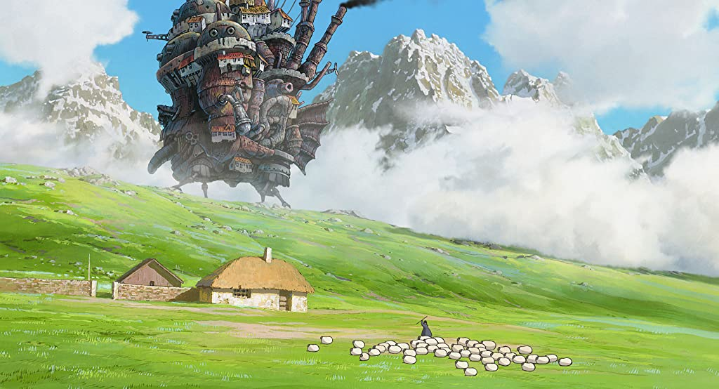 Howl's Moving Castle【日配&英配/5.2G】 5