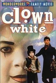 Clown White Poster