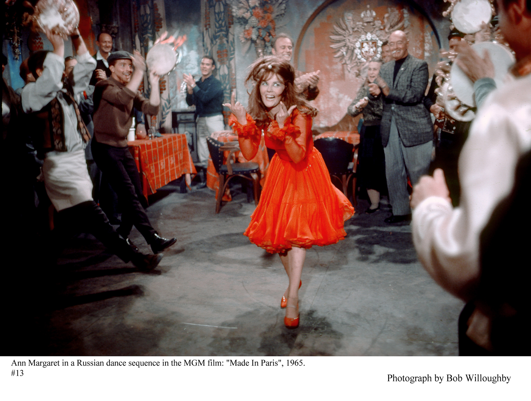 """Made in Paris"" Ann-Margret on the set 1965 MGM"