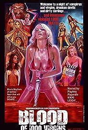 Blood of 1000 Virgins (2013) starring Nikki Leigh on DVD on DVD