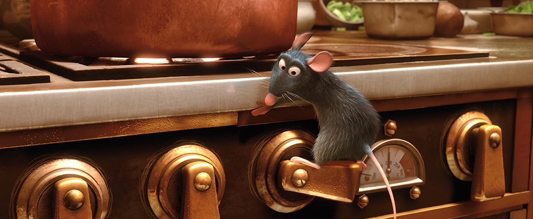 Patton Oswalt in Pixar's Ratatouille (2007)