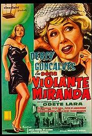 Dona Violante Miranda Poster
