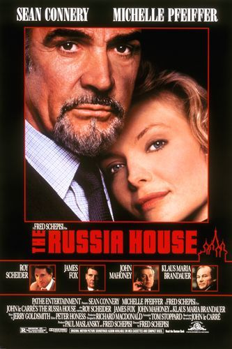 Sean Connery and Michelle Pfeiffer in The Russia House (1990)