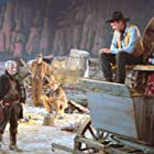 Gary Cooper, Lee J. Cobb, John Dehner, Julie London, and Robert J. Wilke in Man of the West (1958)