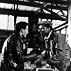 John Cassavetes and Sidney Poitier in Edge of the City (1957)