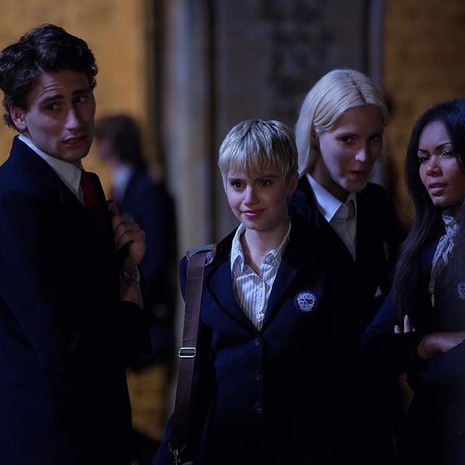 Sami Gayle, Edward Holcroft, and Bronté Terrell in Vampire Academy (2014)