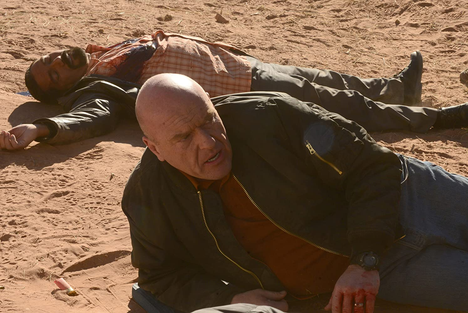 Dean Norris and Steven Michael Quezada in Breaking Bad (2008)