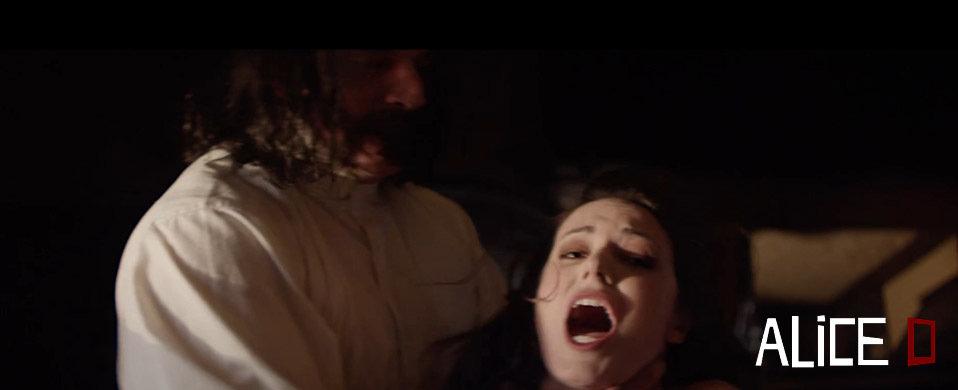 Al Snow and Sarah Nicklin in Alice D (2014)