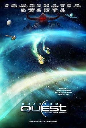 Animation Quantum Quest: A Cassini Space Odyssey Movie
