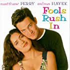 Salma Hayek and Matthew Perry in Fools Rush In (1997)