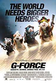Nicolas Cage, Penélope Cruz, Jon Favreau, and Tracy Morgan in G-Force (2009)