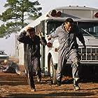 Stephen Baldwin and Laurence Fishburne in Fled (1996)