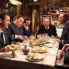Bouli Lanners, Dany Boon, Jean-Paul Dermont, Benoît Poelvoorde, Julie Bernard, and Christel Pedrinelli in Rien à déclarer (2010)