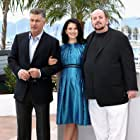 Alec Baldwin, James Toback, and Hilaria Baldwin at an event for Seduced and Abandoned (2013)