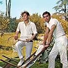Helmut Berger and Fabio Testi in Il giardino dei Finzi Contini (1970)