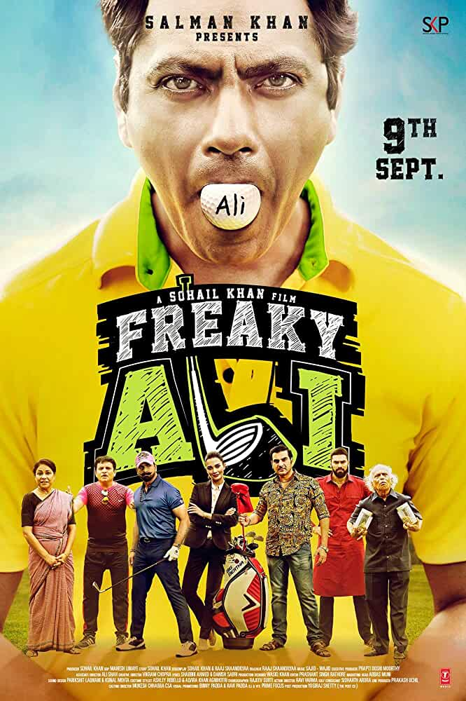 Freaky Ali (2016) Hindi 720p HDRip x264 Full Bollywood Movie [950MB]