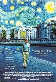Kathy Bates, Adrien Brody, Owen Wilson, Carla Bruni, Marion Cotillard, and Rachel McAdams in Midnight in Paris (2011)