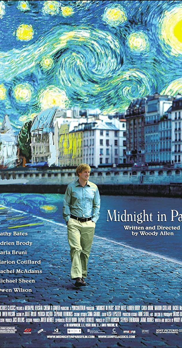 Midnight in paris movie summary