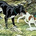 John Hurt and Christopher Benjamin in The Plague Dogs (1982)