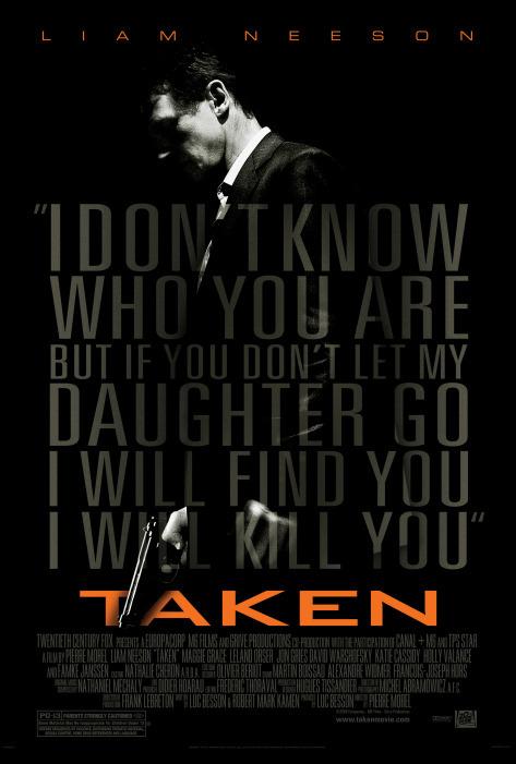 Poster film Taken.