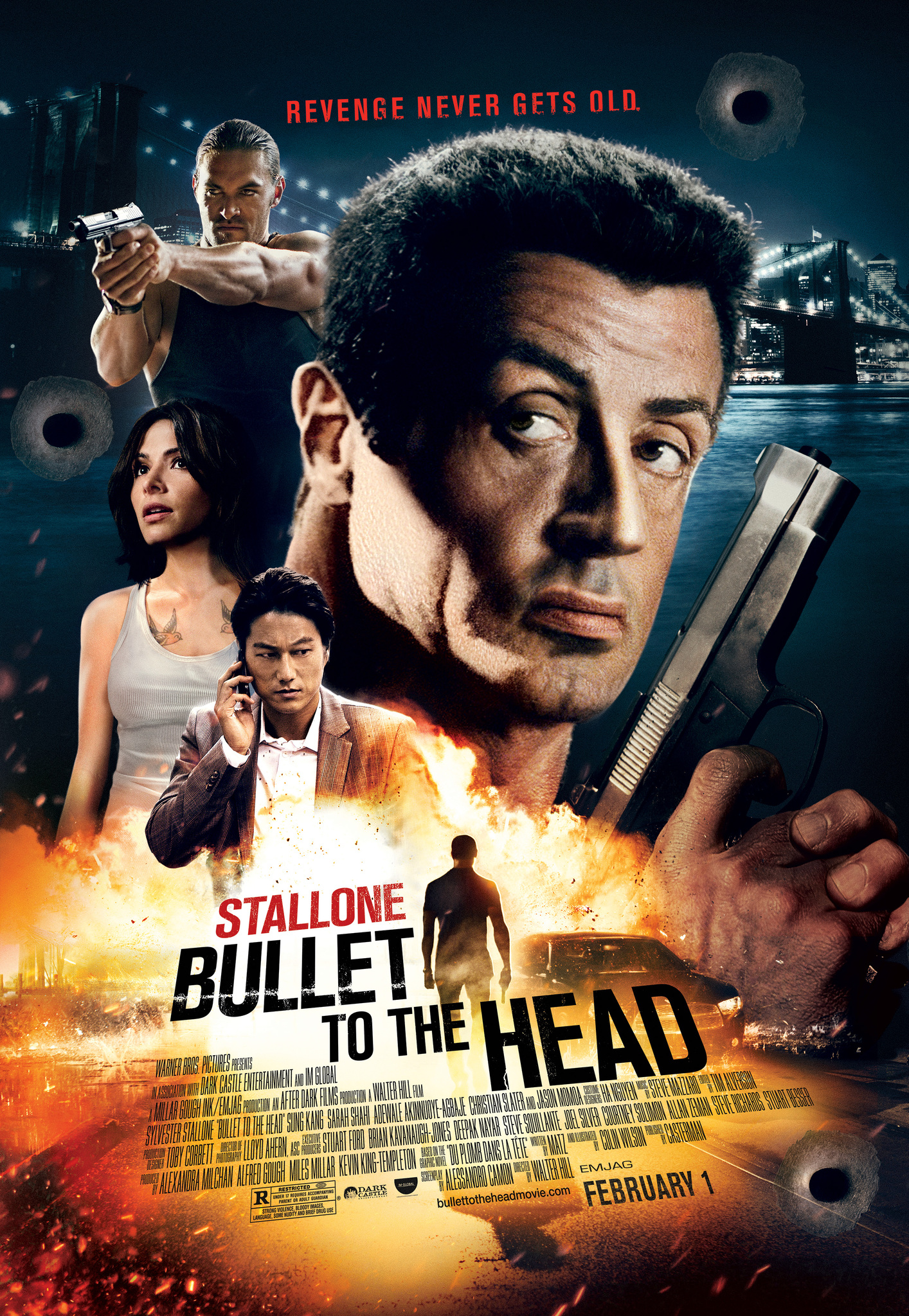 Bullet To The Head 2012 Imdb