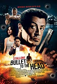 Sylvester Stallone, Sung Kang, Jason Momoa, and Sarah Shahi in Bullet to the Head (2012)